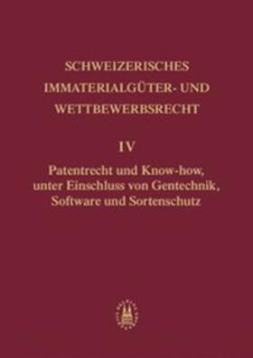 von Büren / David / Blind Buri   Patentrecht und Know-how, unter Einschluss von Gentechnik, Software und Sortenschutz   Buch   sack.de