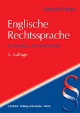 Linhart / Fabry | Englische Rechtssprache | Buch | sack.de