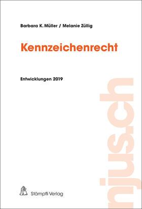 Müller / Züllig   Kennzeichenrecht   Buch   sack.de
