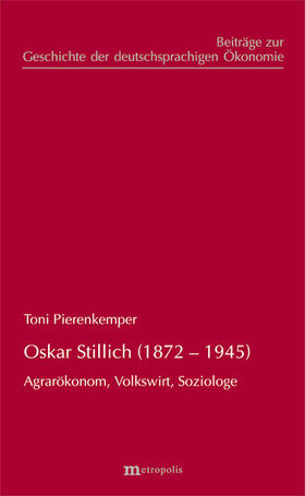 Pierenkemper | Oskar Stillich (1872-1945) | Buch | sack.de
