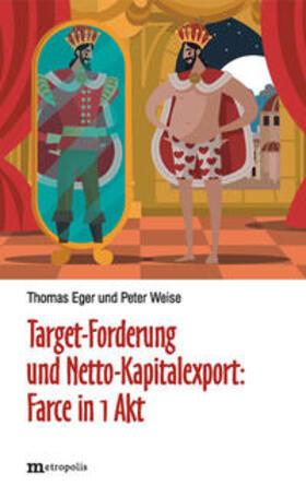 Eger / Weise   Target-Forderung und Netto-Kapitalexport   Buch   sack.de