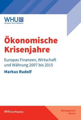 Rudolf   Ökonomische Krisenjahre   Buch   sack.de