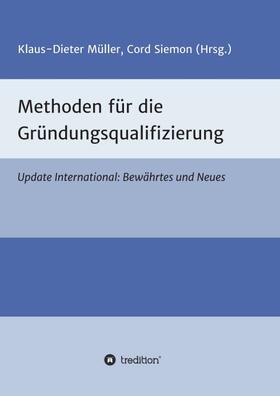 Siemon / Klaus-Dieter | Methoden für die Gründungsqualifizierung | Buch | sack.de