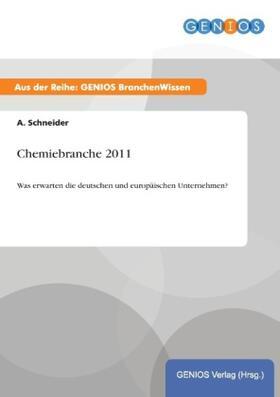 Chemiebranche 2011   Buch   sack.de