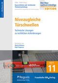 Dilanas / Popescu / Zöller    Niveaugleiche Türschwellen   Buch    Sack Fachmedien