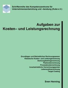 Henning | Aufgaben zur Kosten- und Leistungsrechnung | Buch | sack.de