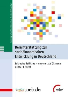 Berichterstattung zur sozioökonomischen Entwicklung in Deutschland. Tl.3 | Buch | Sack Fachmedien