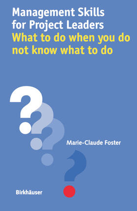 Foster | Management Skills for Project Leaders | Buch | sack.de