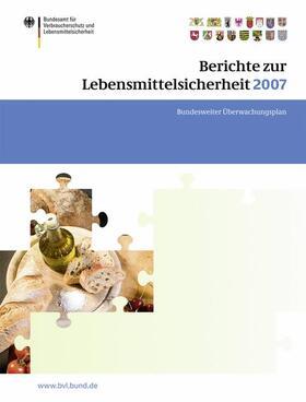 Brandt | Berichte zur Lebensmittelsicherheit 2007 | Buch | sack.de