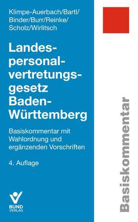 Klimpe-Auerbach / Bartl / Binder | Landespersonalvertretungsgesetz Baden-Württemberg | Buch | sack.de