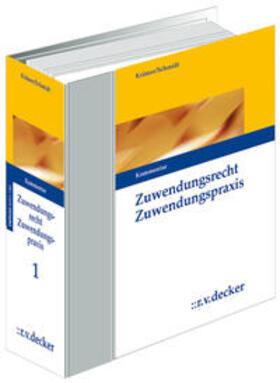 Krämer | Zuwendungsrecht - Zuwendungspraxis | Loseblattwerk | sack.de
