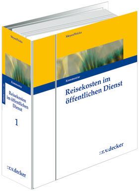 Meyer / Fricke | Reisekosten im öffentlichen Dienst | Loseblattwerk | sack.de