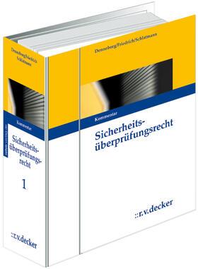 Denneborg   Sicherheitsüberprüfungsrecht (SÜR)   Loseblattwerk   sack.de