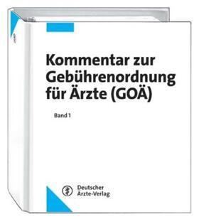 Brück / Klakow-Franck | Kommentar zur Gebührenordnung für Ärzte (GOÄ), 3 Ordner zur Fortsetzung | Loseblattwerk | sack.de