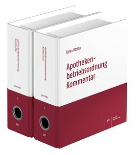 Rotta / Cyran | Apothekenbetriebsordnung Kommentar | Loseblattwerk | sack.de