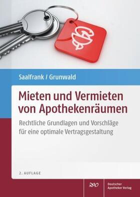 Saalfrank / Grunwald   Mieten und Vermieten von Apothekenräumen   Buch   sack.de