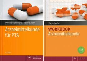 Thomas / Sprecher / Derendorf | Arzneimittelkunde-Workbook mit Arzneimittelkunde für PTA, Arzneimittelkunde für PTA | Buch | sack.de