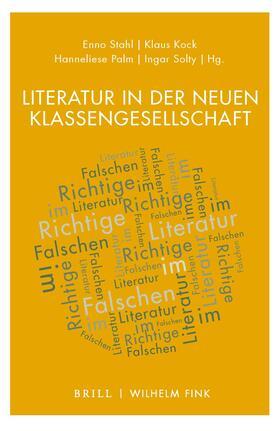 Literatur in der neuen Klassengesellschaft   Buch   sack.de