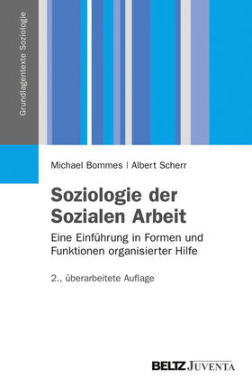 Scherr / Bommes   Bommes, M: Soziologie d. Soz. Arbeit   Buch   sack.de
