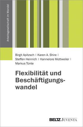 Apitzsch / Shire / Heinrich | Flexibilität und Beschäftigungswandel | Buch | sack.de