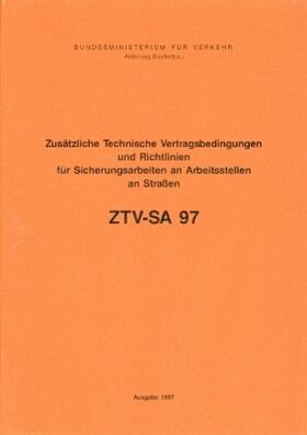 ZTV-SA 97 | Buch | sack.de