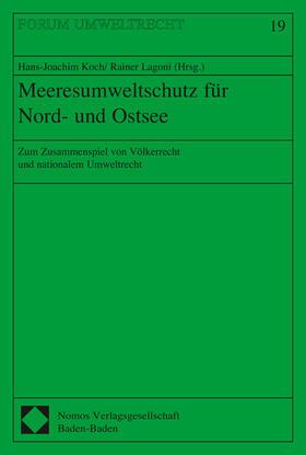 Koch / Lagoni   Meeresumweltschutz für Nord- und Ostsee   Buch   sack.de