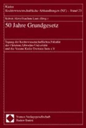 Alexy / Laux   50 Jahre Grundgesetz   Buch   sack.de