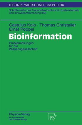 Kolo / Pöppel / Christaller   Bioinformation   Buch   sack.de