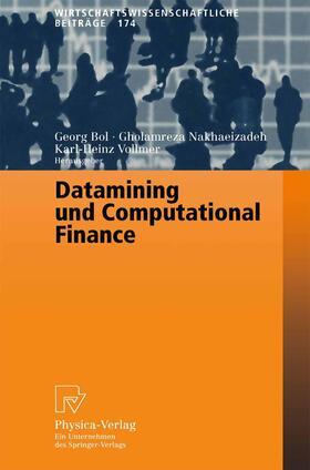Bol / Vollmer / Nakhaeizadeh | Datamining und Computational Finance | Buch | sack.de