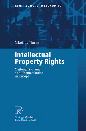 Thumm | Intellectual Property Rights | Buch | sack.de