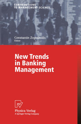 Zopounidis | New Trends in Banking Management | Buch | sack.de