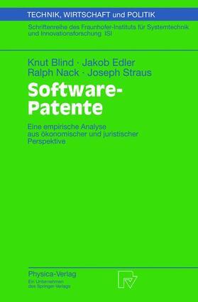Blind / Straus / Nack   Software-Patente   Buch   sack.de