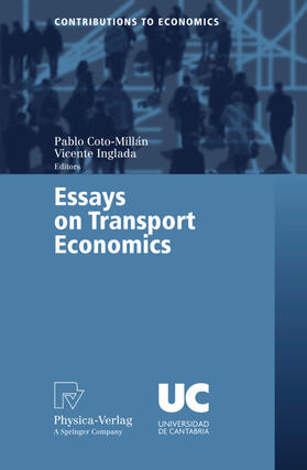 Inglada / Coto-Millán | Essays on Transport Economics | Buch | sack.de