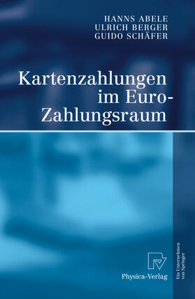 Abele / Schäfer / Berger   Kartenzahlungen im Euro-Zahlungsraum   Buch   sack.de