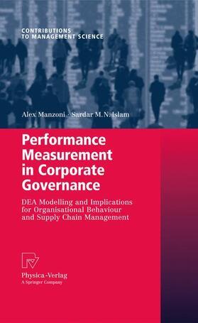 Manzoni / Islam | Performance Measurement in Corporate Governance | Buch | sack.de