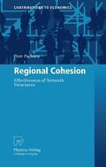 Pachura |  Regional Cohesion | Buch |  Sack Fachmedien
