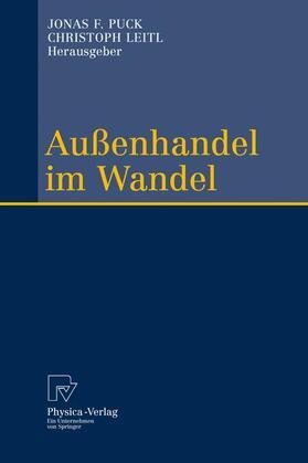 Puck / Leitl   Außenhandel im Wandel   Buch   sack.de