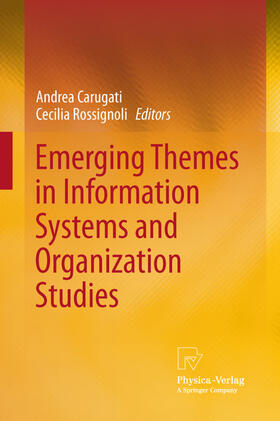 Arhus School of Business / Rossignoli   Emerging Themes in Information Systems and Organization Studies   Buch   sack.de