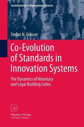 Grösser | Co-Evolution of Standards in Innovation Systems | Buch | sack.de
