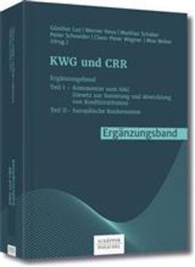 Luz / Neus / Schaber | KWG und CRR Ergänzungsband | Buch | sack.de