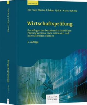 Marten / Quick / Ruhnke | Wirtschaftsprüfung | Buch | sack.de
