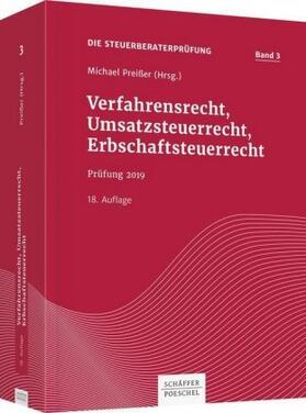 Verfahrensrecht, Umsatzsteuerrecht, Erbschaftsteuerrecht | Buch