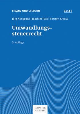 Klingebiel / Patt / Krause | Umwandlungssteuerrecht | E-Book | sack.de