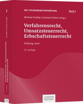 Preißer / Girlich | Verfahrensrecht, Umsatzsteuerrecht, Erbschaftsteuerrecht | Buch | sack.de