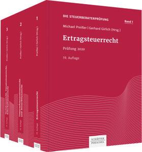 Preißer / Girlich | Die Steuerberaterprüfung Band 1-3 | Buch | sack.de