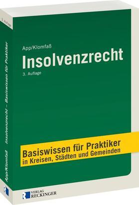 App / Klomfaß | Insolvenzrecht | Buch | sack.de