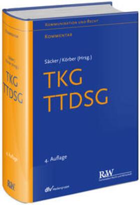 Säcker / Säcker / Körber | TKG - Telekommunikationsgesetz | Buch | sack.de