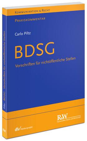 Piltz | BDSG | Buch | sack.de