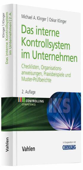 Klinger / Klinger | Das Interne Kontrollsystem im Unternehmen | Buch | sack.de