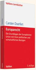 Doerfert |  Europarecht | Buch |  Sack Fachmedien